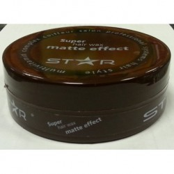 Star Super Hairwax Matte Effect 175 ml