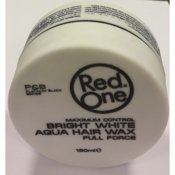 Red One Maximum Control Bright White Aqua Hair Wax Full Force 150 ml