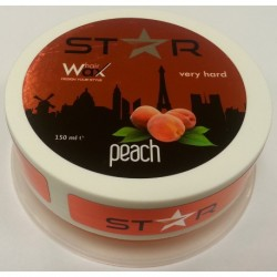 Star Hairwax Peach Very Hard 150 ml